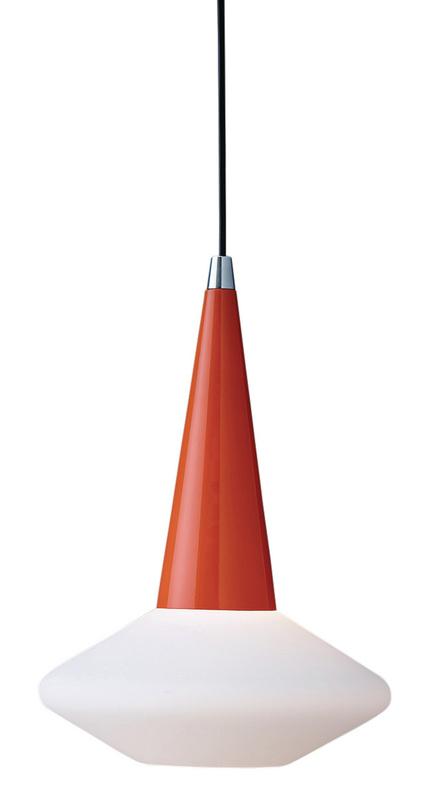 Herstal Dawn pendel orange och vit