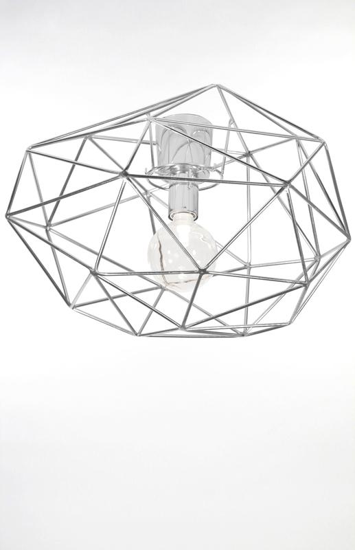Globen Diamond plafond krom