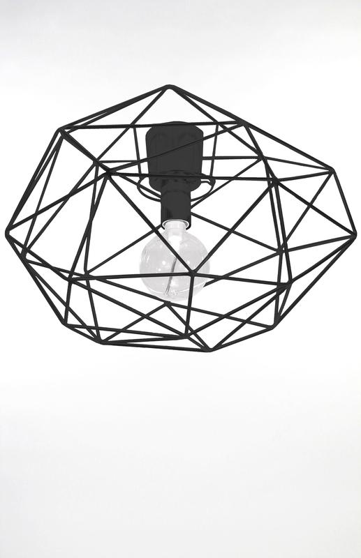 Globen Diamond plafond svart