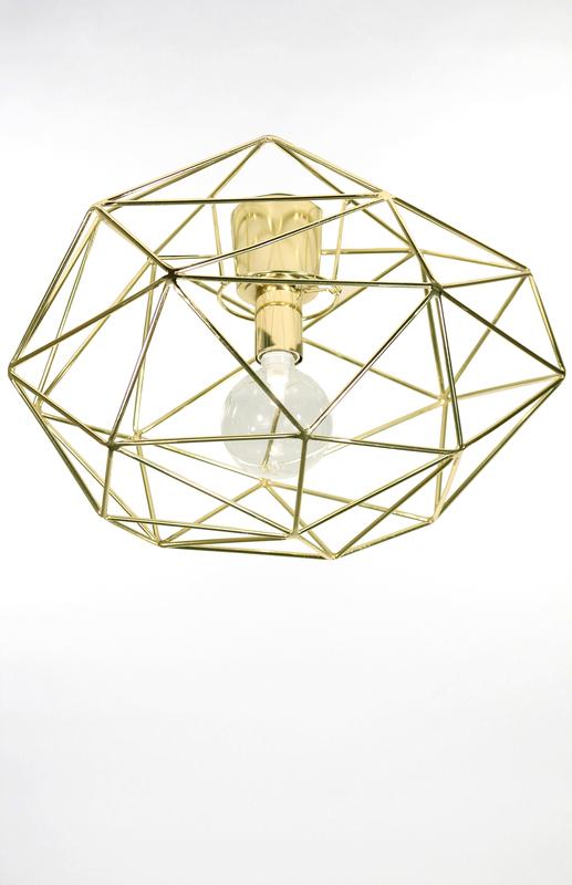 Globen diamond plafond mässing
