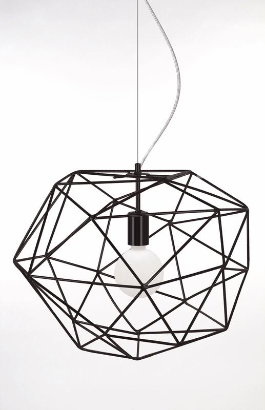 Globen Diamond tak lampa svart