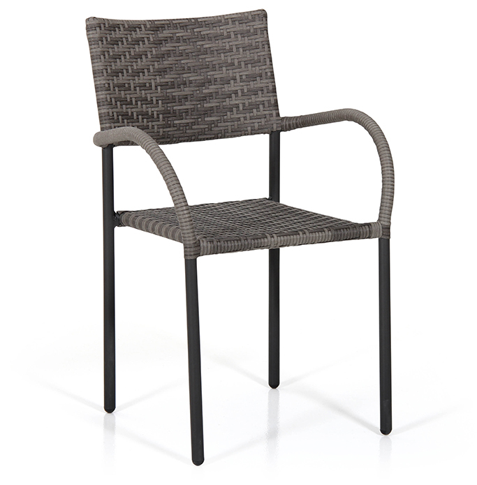 Loke stol grå konstrotting