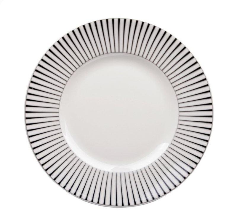 Interstils Zebra assiett