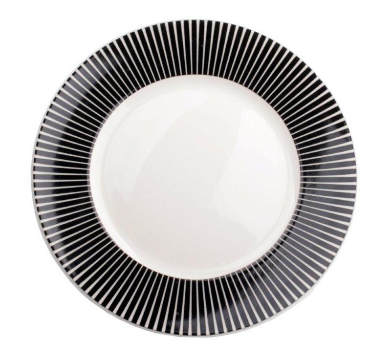 Interstils Zebra tallrik