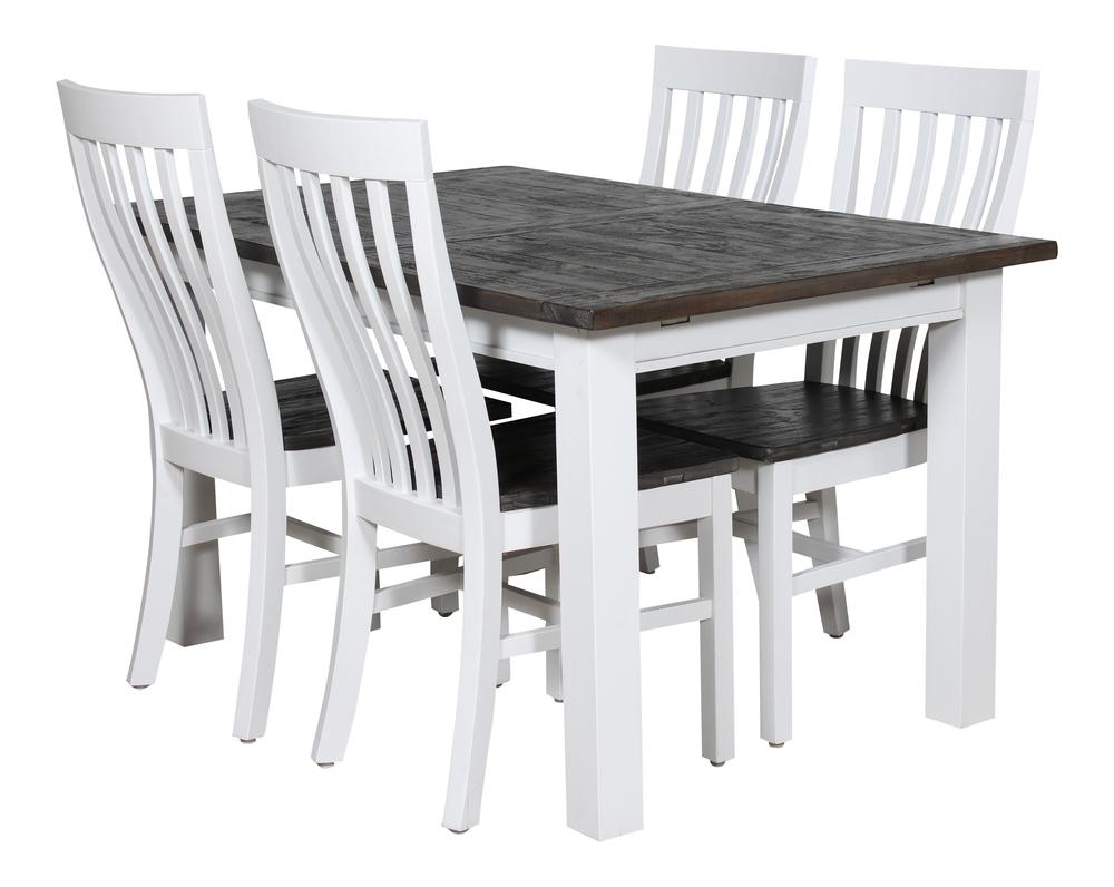 Orust matbord med 4 stolar