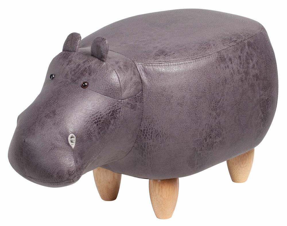 Flodhäst sittpuff