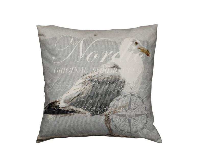 Soul Nordic bird kudde