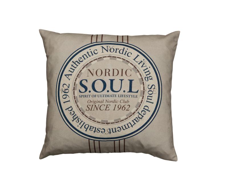 Soul Nordic emblem kudde