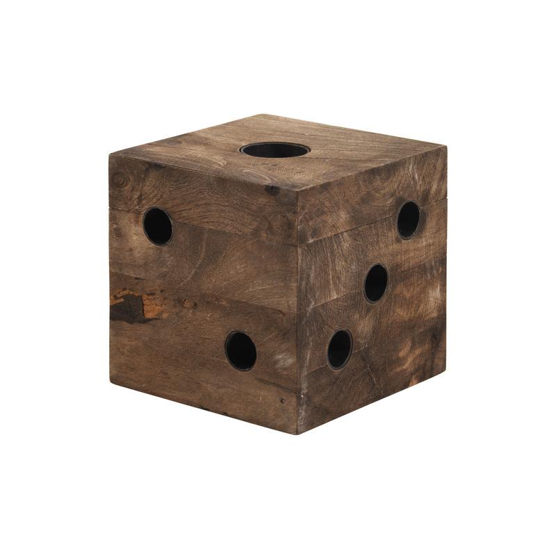 Soul Cube ljuststake i trä