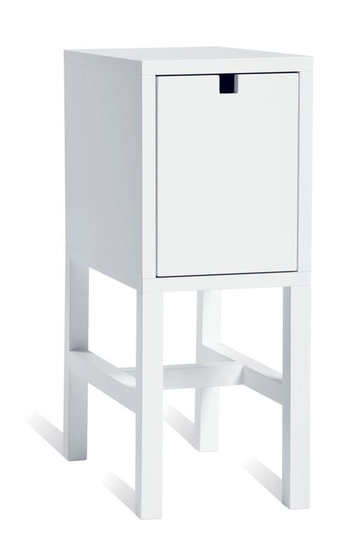 Mavis Falsterbo sängbord 1 låda vit