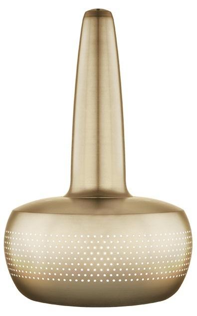 VITA Clava lampskärm Brass 21,5cm