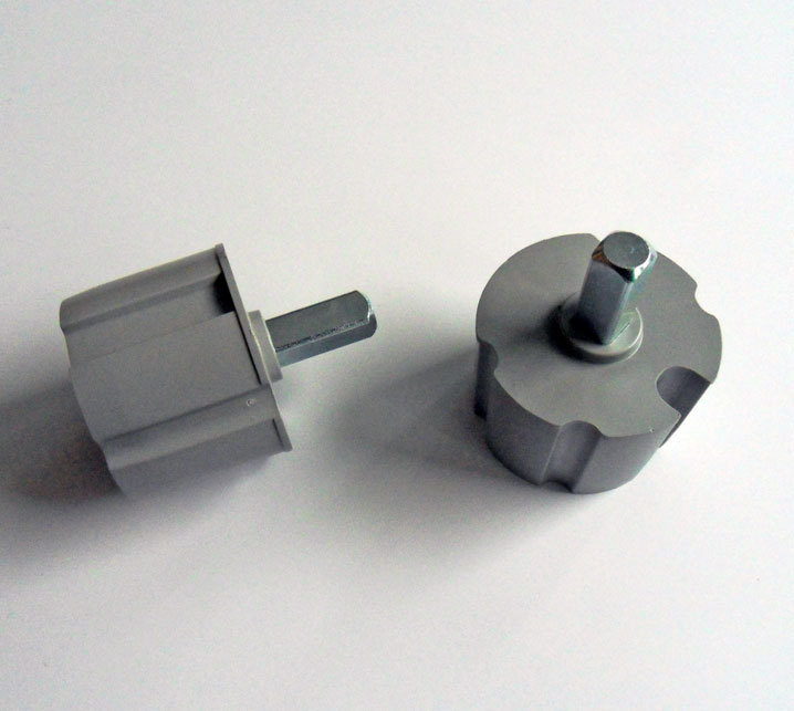 Ändtapp, 70 mm, fyrkant