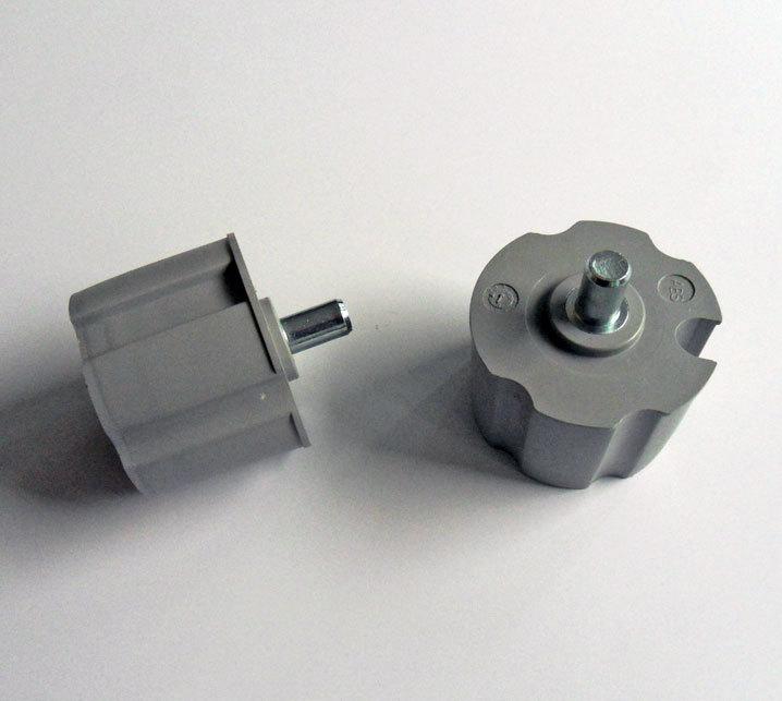 Ändtapp, 70 mm, rund