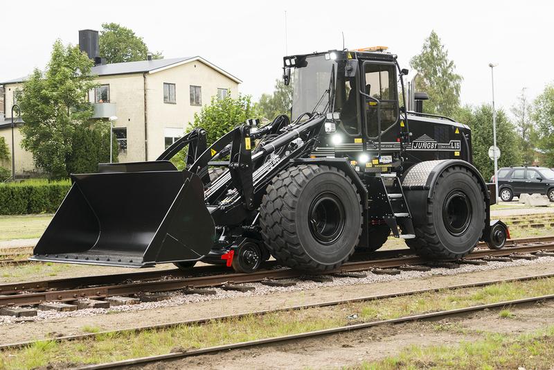 Ljungby Maskin Rail edition for L15