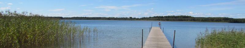 Bild från Levrasjön i Bromölla