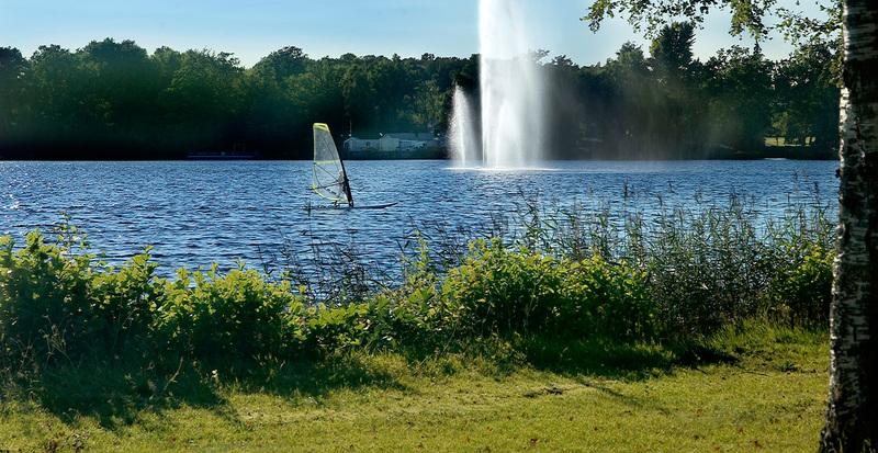 Vattenspel i Osby