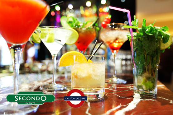 £8 instead of £45 for 6 cocktails and entry for 2 at either Secondo Clapham or Dalston Jazz Club on a Friday or Saturday night - save 82%
