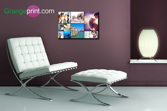 "£9.95 instead of £57 (from Grangeprint) for a 12""x16"" Facebook photo-montage canvas print –  'like' the saving of  83%"