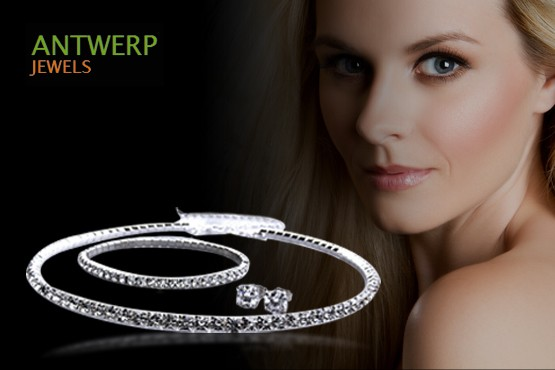 £19 instead of £119.99 (from Antwerp Jewels) for a Swarovski elements jewellery set inc. necklace, earrings and bracelet  - save 84%