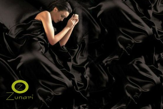 £16.99 for a satin bedding set inc. duvet cover, sheet and 4 pillowcases, £19.99 for double or king, or £24.99 for a super king from Zunari - save 43%