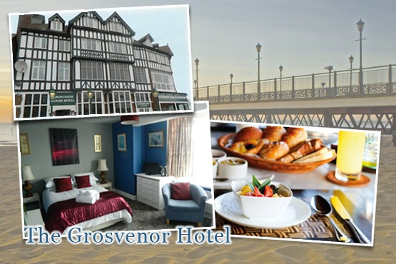 £79 instead of up to £176 for a 2 night stay for 2 including breakfast each morning at the Grosvenor Hotel, Skegness – save up to 55%