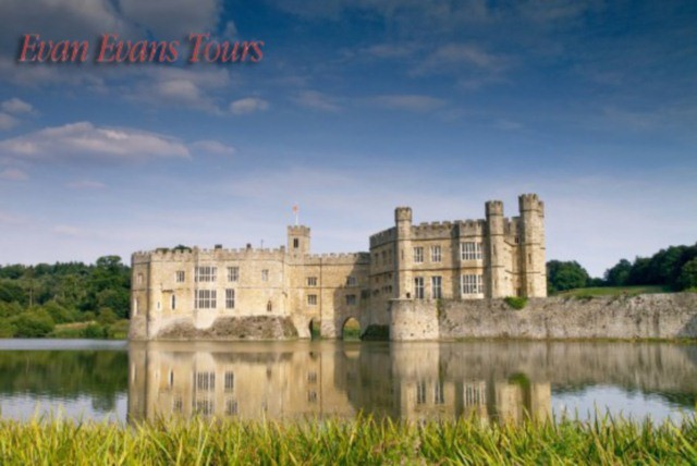 £24.50 instead of £49 for a 1 day excursion to Leeds Castle, Canterbury Cathedral & White Cliffs of Dover from Evan Evans Tours – save 50%