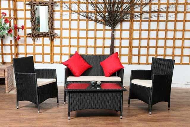 £249 (from Garden Living Room) for a 'Classic' 4 piece rattan furniture set, or £349 for a 'Cube' 5 piece set – save up to 64%