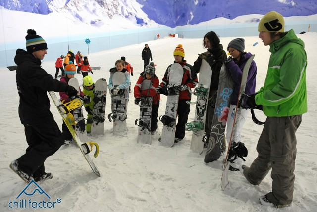 £24 instead of £48 for a 45 min Luge or Tubing experience plus a 50 min Ski or Snowboard taster session with Chill Factore, Manchester – save 50%