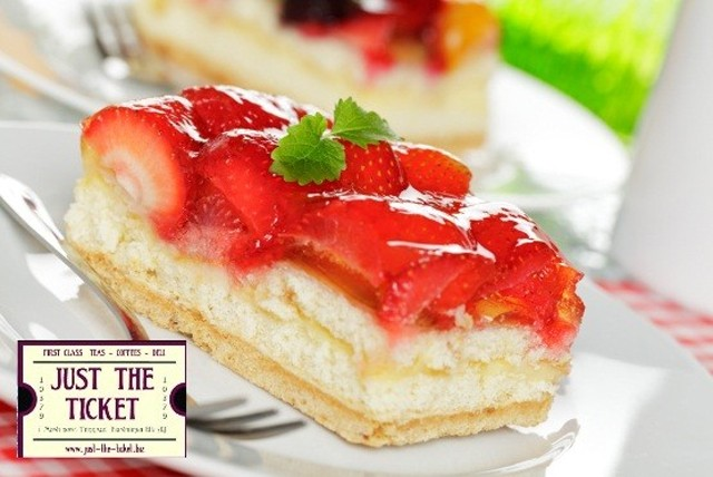 £3.99 instead of up to £9.80 for afternoon tea for 2, inc. drink and a slice of homemade cake each at Just the Ticket - save up to 59%