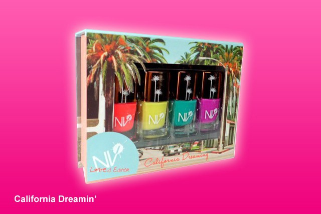 £7.99 for a set of 4 NV Colour nail polishes in a choice of colours or £15.99 for two sets from Glitterstore – save a stylish 50%