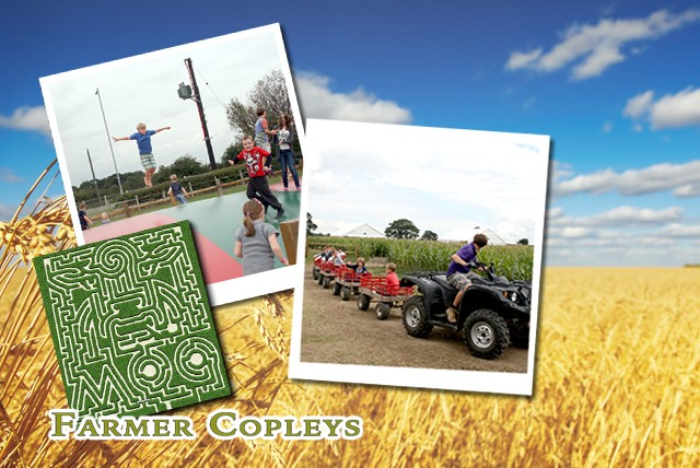 £9 instead of £20 for entry for 4 people to the award-winning Farmer Copley's Farm and Corn Maze, Pontefract - save 55%
