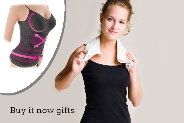 £8.99 instead of £49.99 (from Buy It Now Gifts) for a black germanium and cotton control vest – give your workout a boost and save 82%