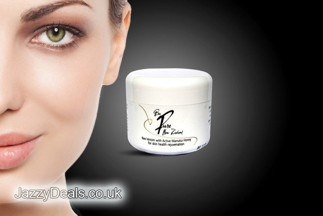 £39.99 instead of £99.99 (from JazzyDeals) for a 100ml pot of BeePureNZ Bee Venom Cream with Active Manuka Honey – save 60%