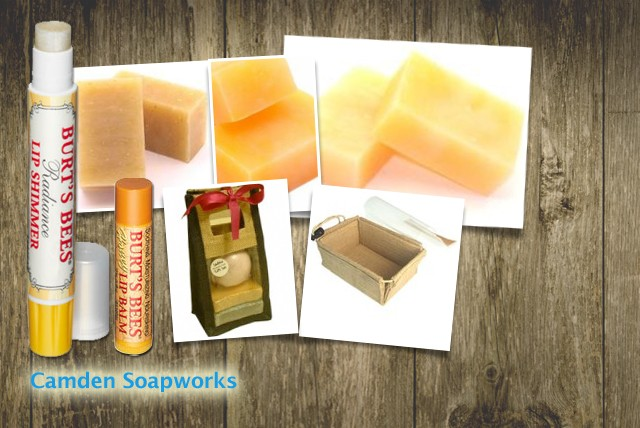 £9.99 instead of £20 for a handmade soap set inc. 3 natural soaps, a Burts Bees lip shimmer & lip balm from Camden Soap Works – save 50%