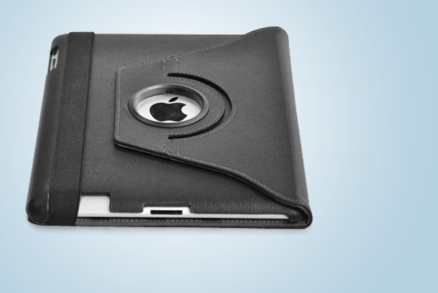 £9.99 instead of £34.99 (from Blue Bud) for an iPad 360 degree rotating case stand – keep your iPad protected in style & save 71%