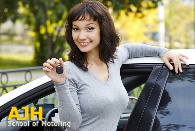 £7.50 instead of £51 for three 60 minute driving lessons with AJH School of Motoring, North Shields – save 85%