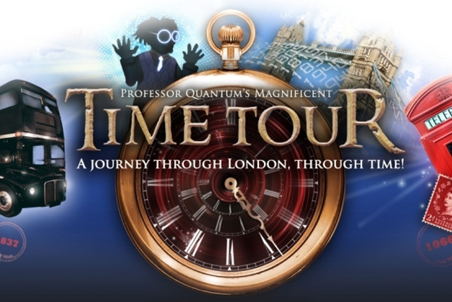 £9 instead of £18 for a ticket to Professor Quantum's Magnificent Time Tour - see London's historical sights and save 50%