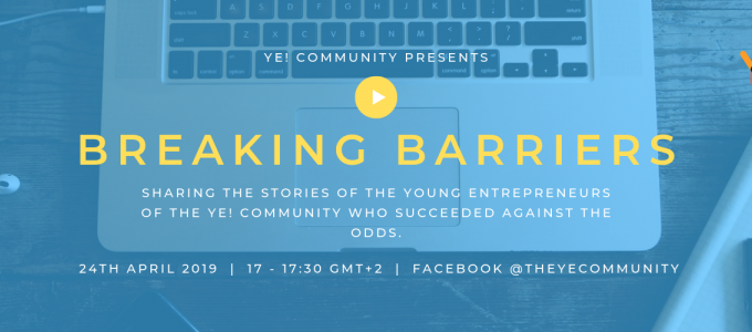 Breaking Barriers – An Initiative from Ye!