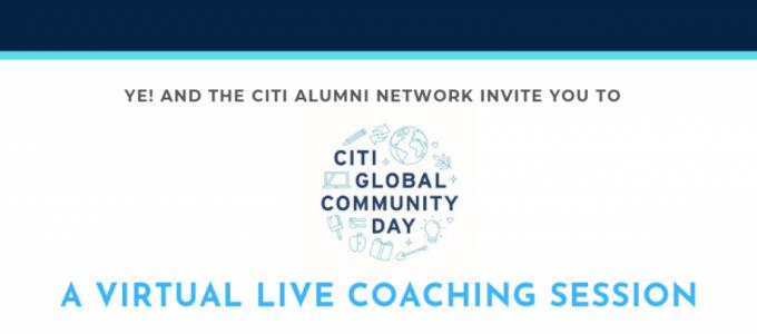 Ye! x Citi Alumni Network: The Hot Takes!