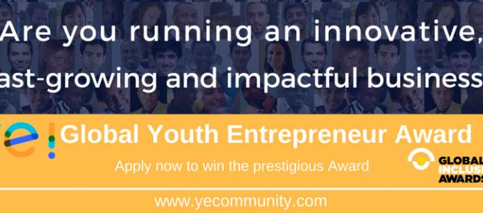Announcing the Ye! Global Youth Entrepreneur Awards