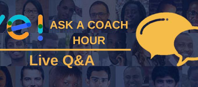 'Ask a Coach Hour' Calendar