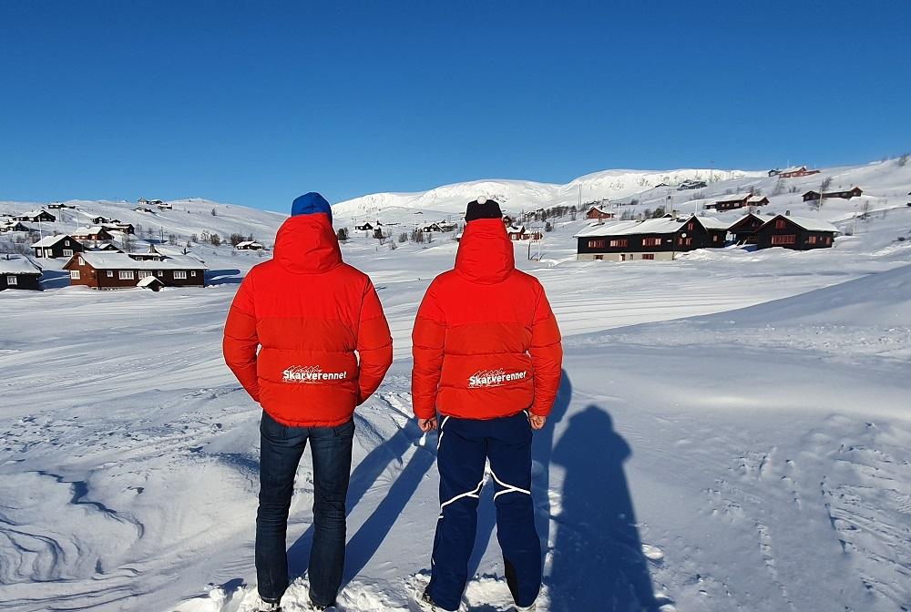 Gode snøforhold i Skarverennstraseen