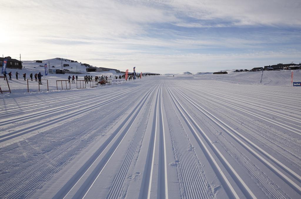 Skarverennet 2021, idag snør det skiføre