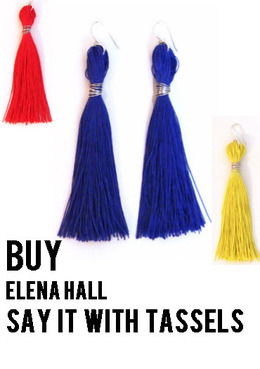 Buy Tassel Earrings