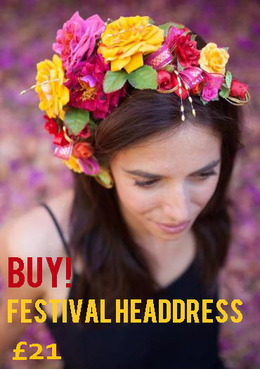 Festival headdress