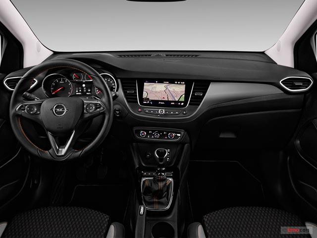 voiture neuve opel crossland x design 1 2 turbo 110 ch 5 portes 2019 besancon 2015. Black Bedroom Furniture Sets. Home Design Ideas