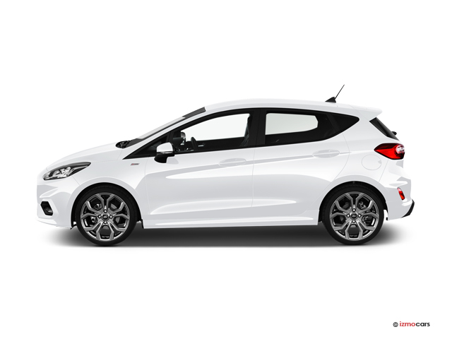 Photo de la FORD FIESTA ST-LINE X 1.0 ECOBOOST 95 CH START/STOP BVM6 5 PORTES à motorisation ESSENCE et boite MANUELLE de couleur BLANC - Photo 1