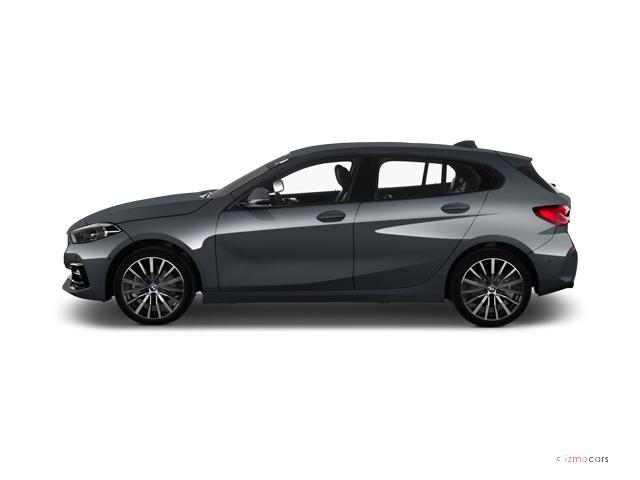 Photo de la BMW SERIE 1 118D 150 CH 5 PORTES à motorisation DIESEL et boite MANUELLE de couleur GRIS - Photo 1