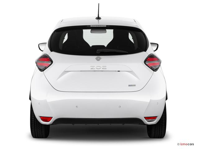 Miniature de la RENAULT ZOE EXCEPTION R135 ACHAT INTéGRAL 5 PORTES à motorisation ELECTRIQUE et boite AUTOMATIQUE de couleur BLANC - Miniature 4