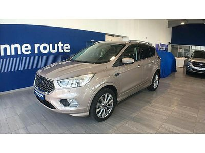 ford kuga 2 0 tdci 180ch stop start vignale 4x4 powershift occasion arras 25 990. Black Bedroom Furniture Sets. Home Design Ideas